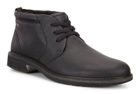 ECCO Mens Turn GTX Lace Boot (BLACK)