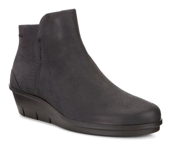 ECCO Skyler Wedge BootieECCO Skyler Wedge Bootie BLACK (02001)