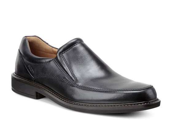 ECCO Holton Apron Toe Slip On (BLACK)