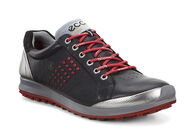 ECCO Mens Golf Biom Hybrid 2 (BLACK/BRICK)
