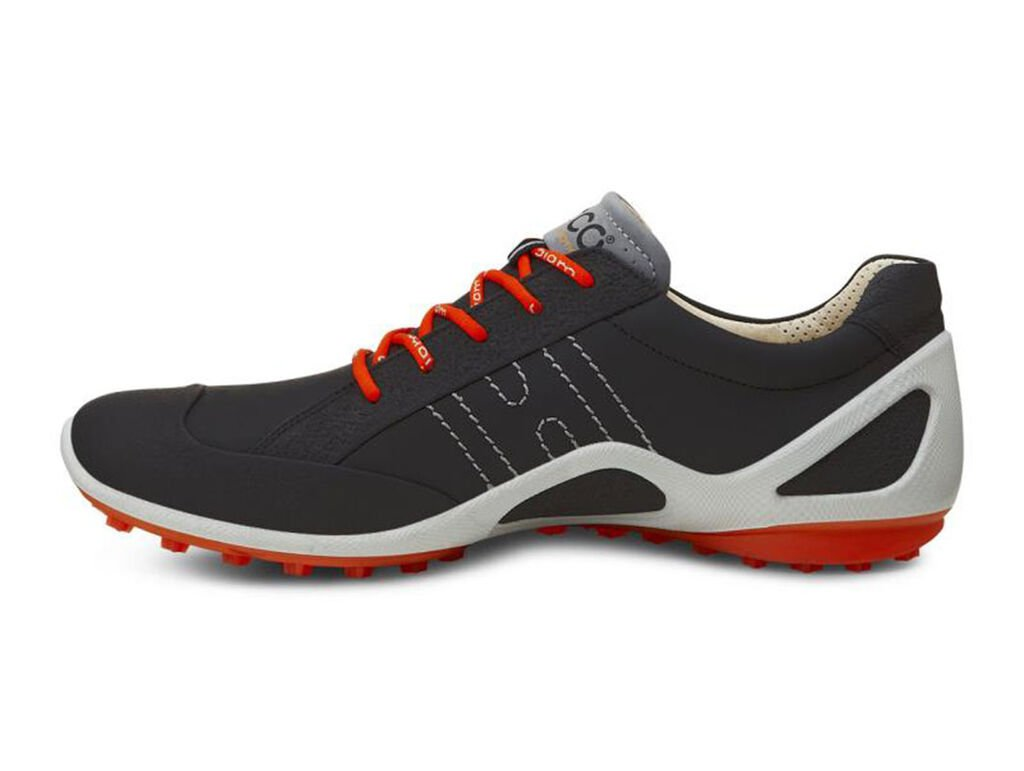 Ecco Biom Zero Golf Shoes Black Fire