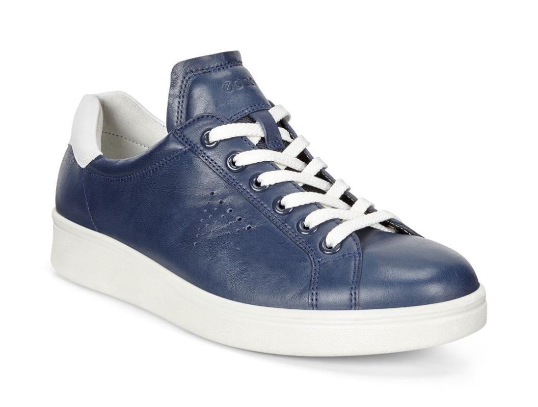 ECCO Womens Soft 4 SneakerECCO Womens Soft 4 Sneaker TRUE NAVY/WHITE  (50446) ...