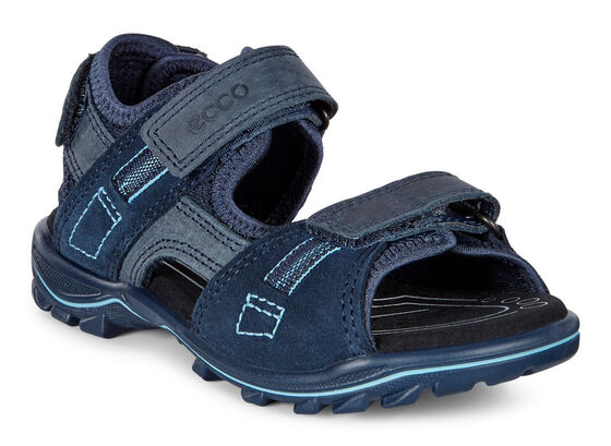 ECCO Kids Urban Safari Sandal (MARINE/MARINE)