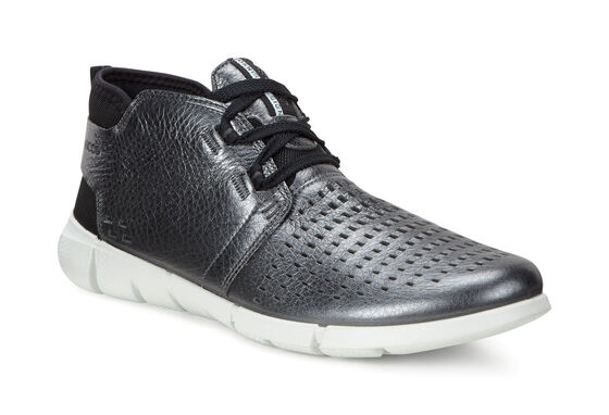 ECCO Womens Intrinsic 1 Chukka (DARK SHADOW METALLIC)