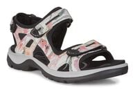 ECCO Womens Offroad Sandal (WHITE/FLOWER PRINT)