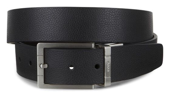 ECCO Evry Men's Belt (BLACK/COFFEE)