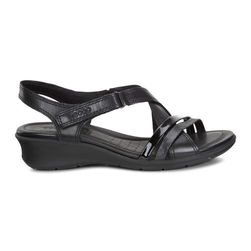... ECCO Felicia SandalECCO Felicia Sandal BLACK/BLACK (51707) ...