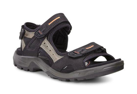 ECCO Mens Offroad Sandal (BLACK/MOLE/BLACK)