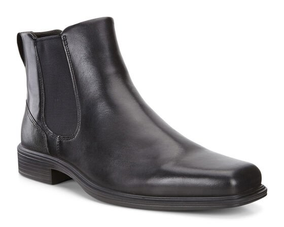 ECCO Mens Johannesburg Boot (BLACK)