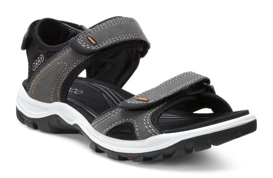 ECCO Womens Offroad Lite Sandal (DARK SHADOW/BLACK)