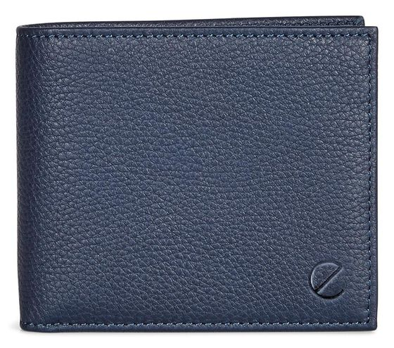 ECCO Jos Flap Wallet (NAVY)