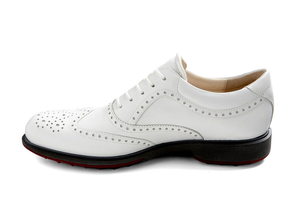 Ecco Wingtip Golf Shoes Fit