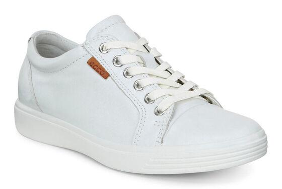 ECCO Teen Soft 7 Sneaker (WHITE)