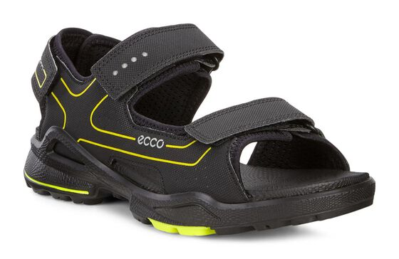 ECCO Boys Kids Biom Sandal (BLACK/BLACK)
