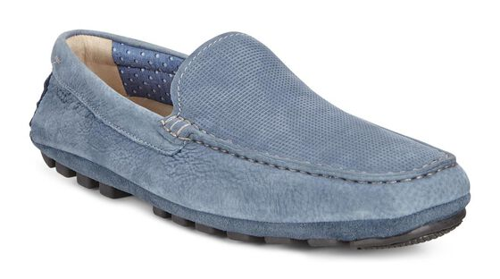 ECCO Summer Moc (DENIM BLUE/DENIM BLUE)