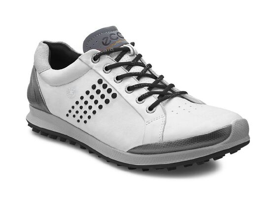 ECCO Mens Golf Biom Hybrid 2 (WHITE/BLACK)