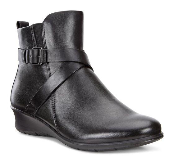 ECCO Womens Felicia Boot (SHALE)