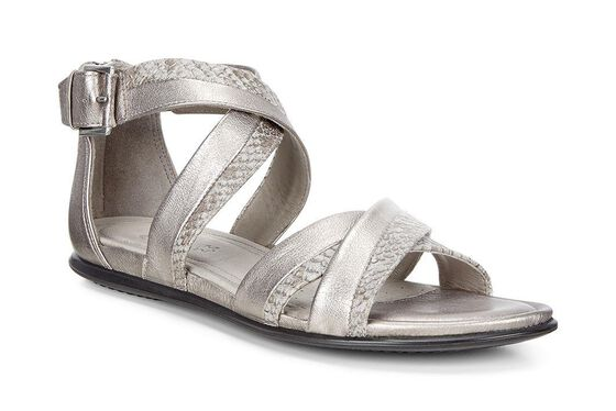 ECCO Touch Ankle Strap Sandal (MOON ROCK/MOON ROCK)