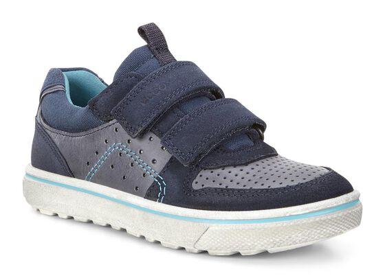 ECCO Kids Glyder Strap Sneaker (MARINE/MARINE)