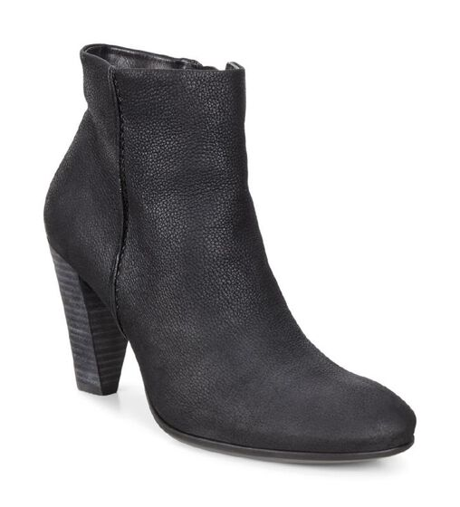 ECCO Womens Shape 75 Boot (BLACK)