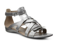 ECCO Bouillon Sandal II Strap (WARM GREY METALLIC/WARM GREY METTALLIC)