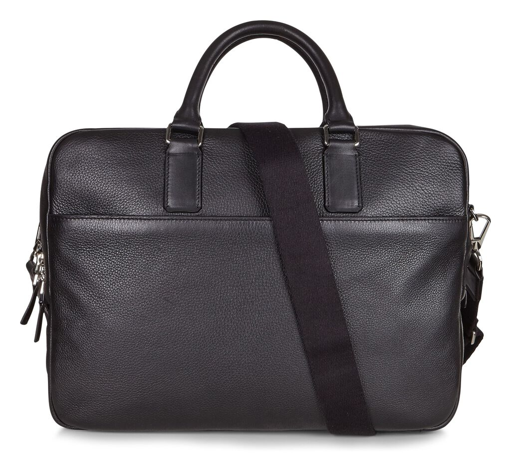 ECCO Jos Laptop Bag (BLACK)