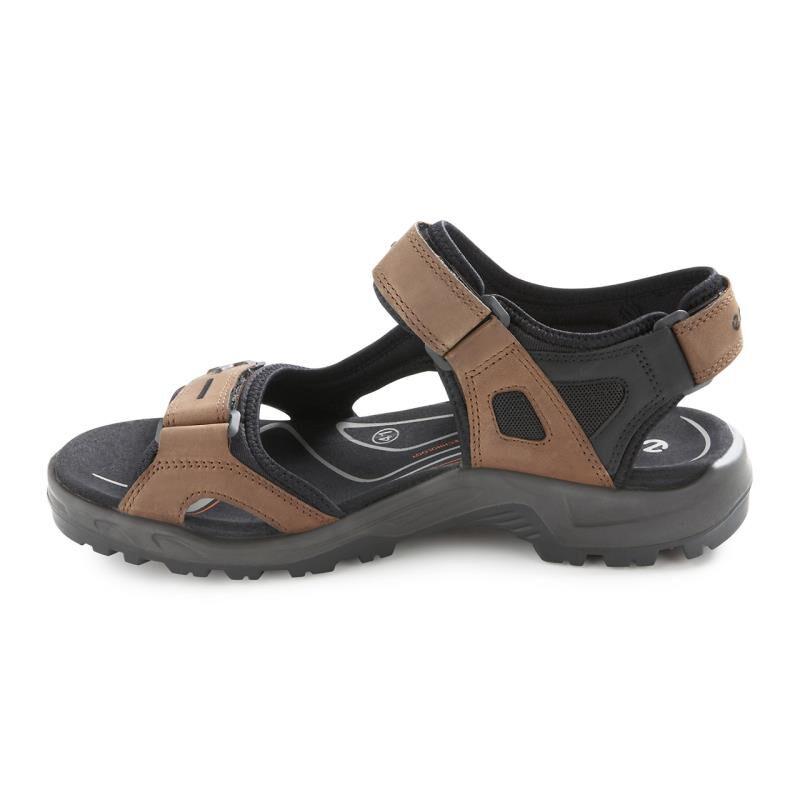 Ecco Herren Offroad Outdoor Sandale  46 EUSchwarz (Bison/Black/Black 52340)