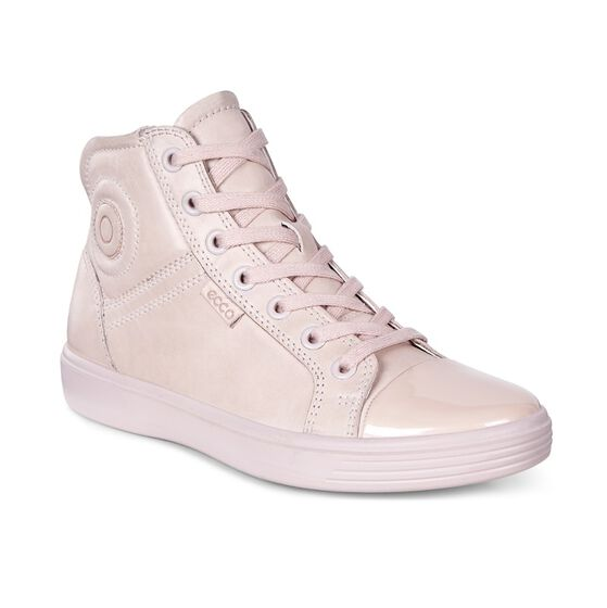 ECCO Kids Soft 7 High Top (ROSE DUST/ROSE DUST)
