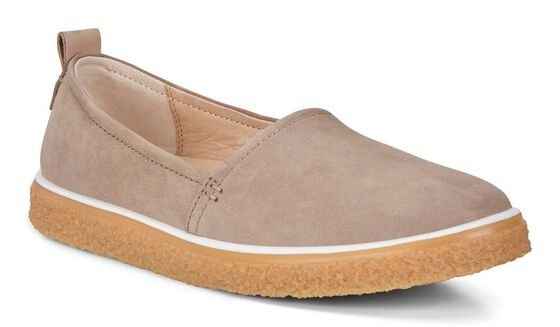 ECCO Womens Crepetray Slip On (NAVAJO BROWN)