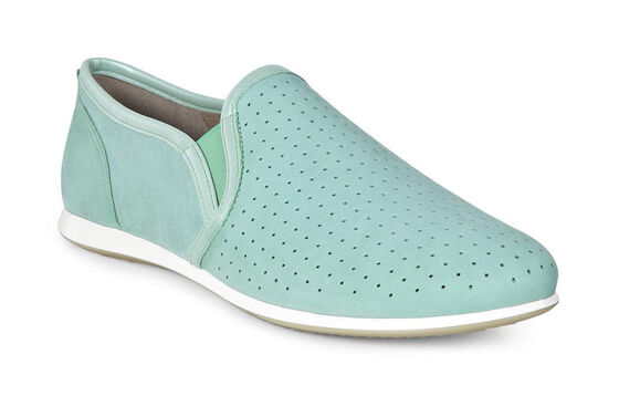ECCO Touch Sneaker Slip On (GRANITE GREEN/GRANITE GREEN)