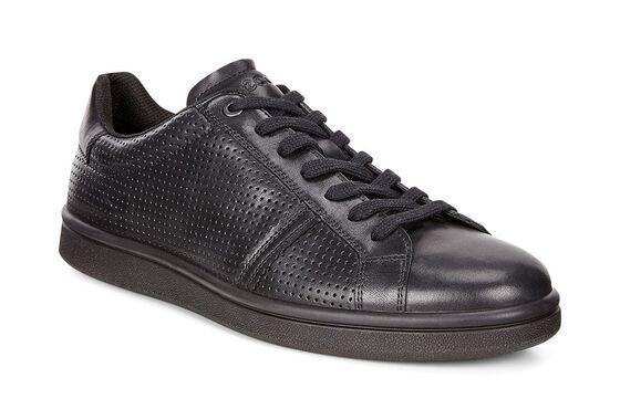 ECCO Kallum Premium Sneaker (BLACK)