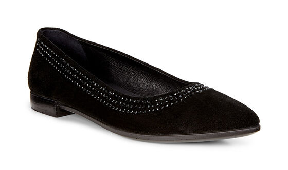 ECCO Shape Pointy Ballerina (BLACK)