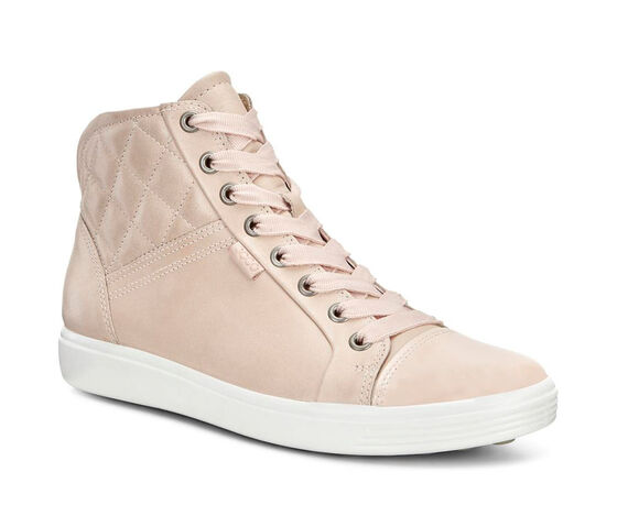 ECCO Womens Soft 7 Quilted Boot (ROSE DUST/ROSE DUST)