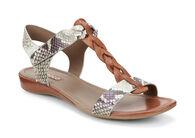 ECCO Bouillion T-Strap SandalECCO Bouillion T-Strap Sandal in COGNAC/SAGE (59520)