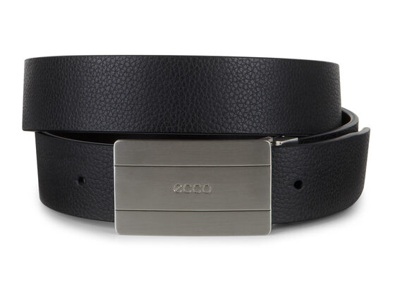 ECCO Eby Mens Belt (BLACK/COFFEE)