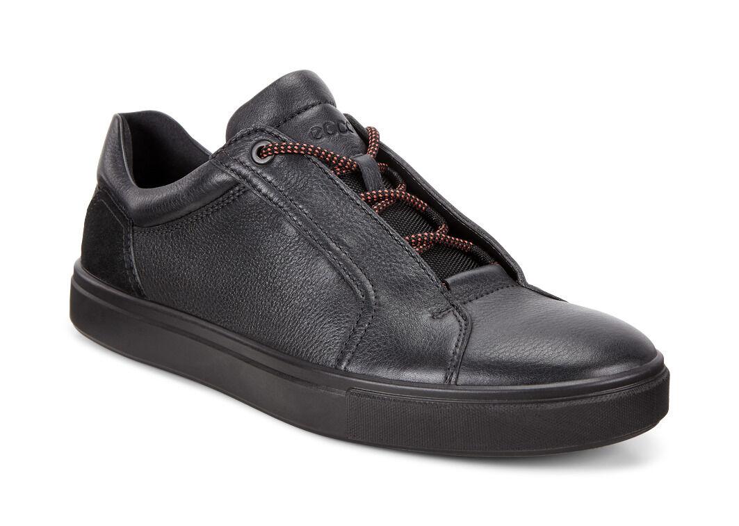 ECCO Kyle Street SneakerECCO Kyle Street Sneaker BLACK/BLACK (51052) ...