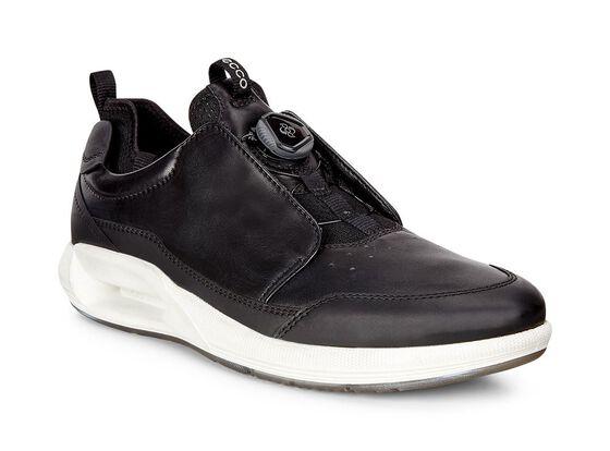 ECCO Mens CS16 Sport Sneaker (BLACK/BLACK)