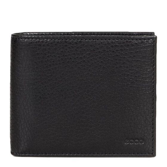 ECCO Gordon Flap Wallet (BLACK)