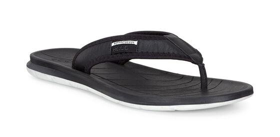 ECCO Mens Intrinsic Toffel Thong (BLACK)