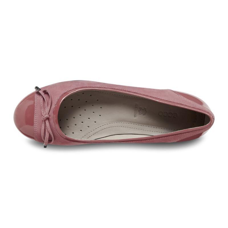 ... ECCO Touch Ballerina BowECCO Touch Ballerina Bow PETAL/PETAL (59524) ...