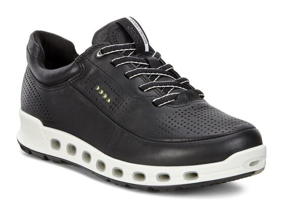ECCO Womens Cool 2.0 Leather GTX (BLACK)
